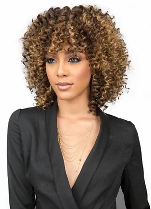 Bobbi Boss Miss Origin 3PC Short Deep Wave Human Hair Blend Weave