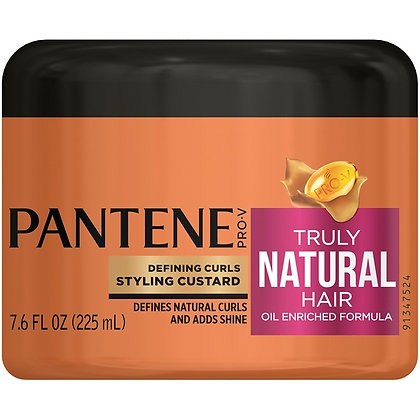 Pantent Pro-V Truly Natural Hair Defining Curls Styling Custard 7.6oz