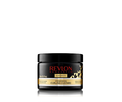 Revlon Realistic Black Seed Oil Strengthening Curling Custard 10.1oz