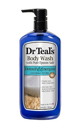Dr. Teal's Body Wash Detoxify & energize with Ginger & Clay 24oz