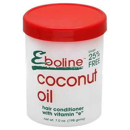 Eboline Coconut Oil Hair Conditioner with Vitamin E 7oz