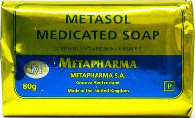 Metasol Medicated Soap