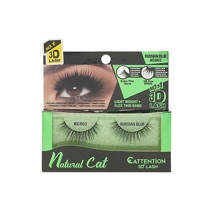 Ebin 3D Effect Eye Lashes Natural Cat