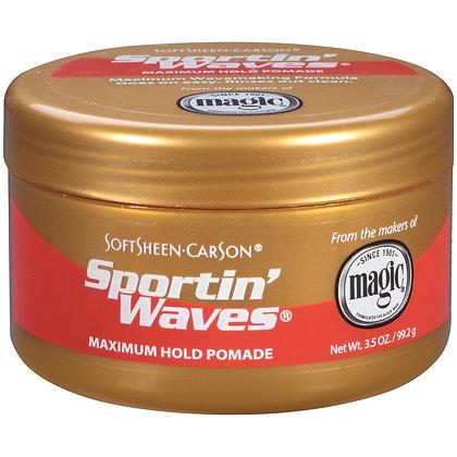 SoftSheen Carson Sportin' Waves Maximum Hold Pomade 3.5oz