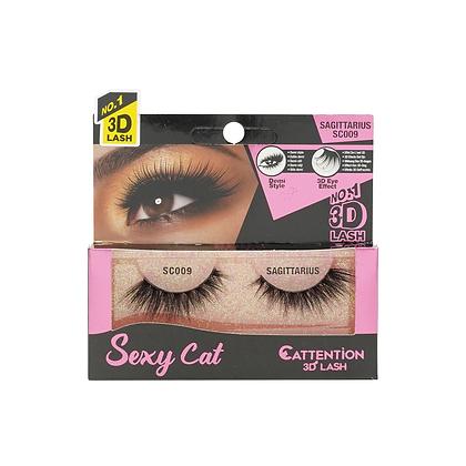 Ebin 3D Effect Eye Lashes Sexy Cat