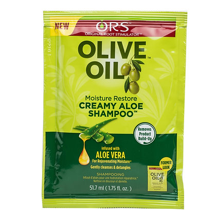 ORS Olive Oil Moisture Restore Creamy Aloe Shampoo 1.75oz
