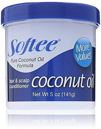 Softee Coconut Oil Hair & Scalp Conditioner 5oz