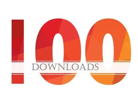 100 Alert IQ downloads, tracked with Alert IQ!