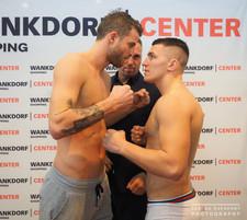 K1 Fight Night Bern - mit Janosch Nietlispach (Bachelor 2016)