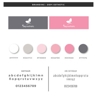 Branding Depi Esthetic Argentina