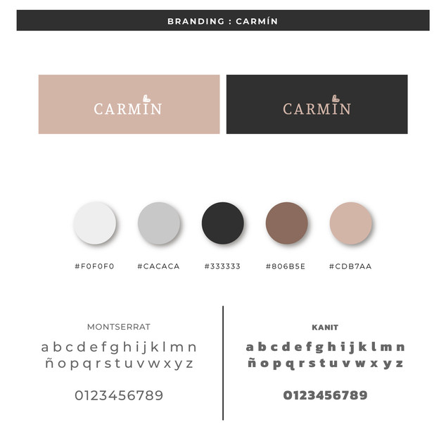 Branding Carmín