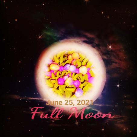 ストロベリームーン0625に備えましょう🌕🦋【満月お祈り会】20210624