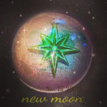 良い新月をお過ごしください✩.*˚ぜひ瞑想やリセットのお時間を :)&沐浴ヒーリングオイル 【新月】20201115