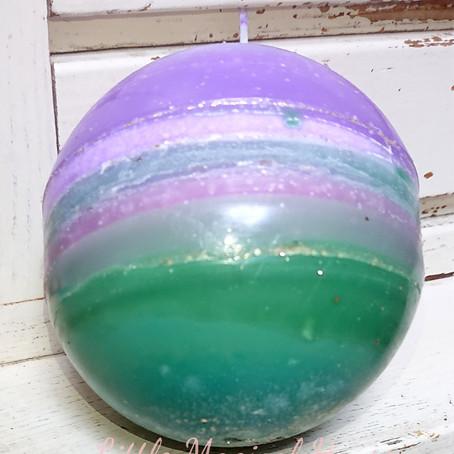 明日は満月🌕限定3本沐浴オイル頑張って出します&美しい魔法球✩.*˚