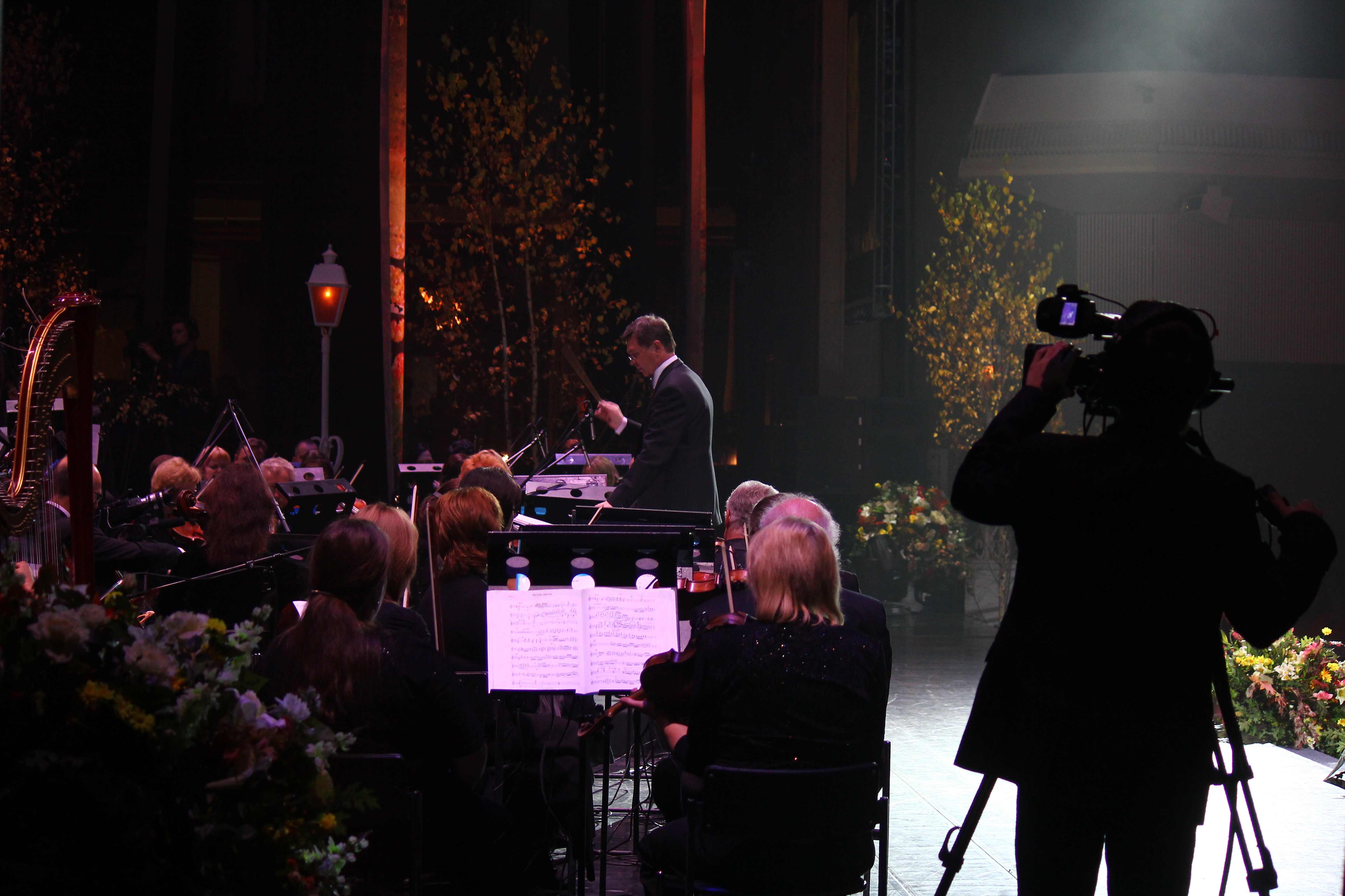 Многокамерная съёмка концерта