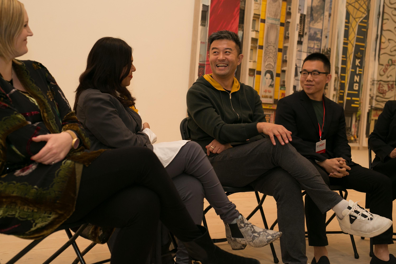 Liu Bolin Talk