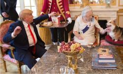Trump & Queen Have KFC