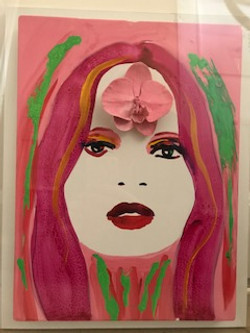 Marc Quinn - Kate Moss With Orchid