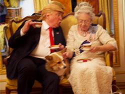 Trump & Queen Have Tea