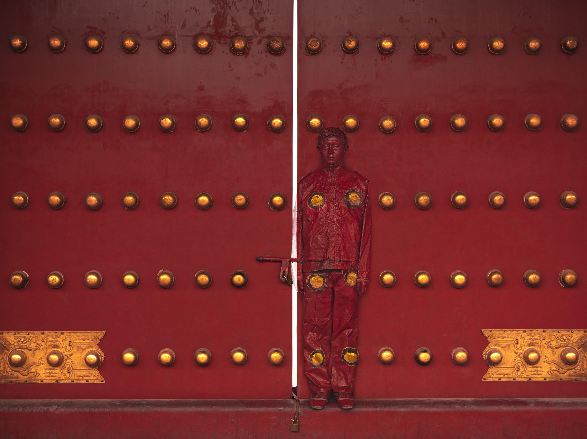 Hiding in the City - Red Door