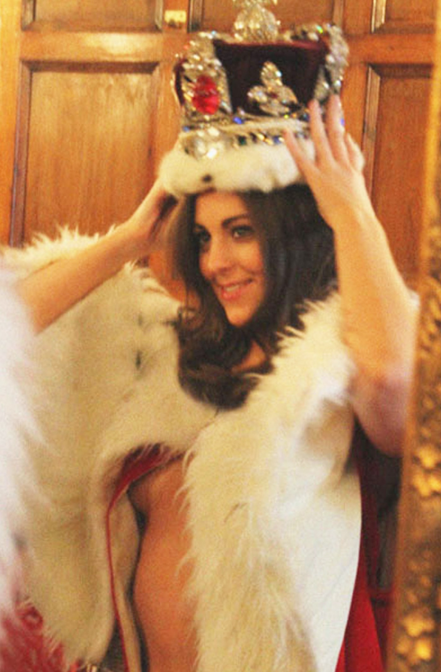 Kate Tries the Crown