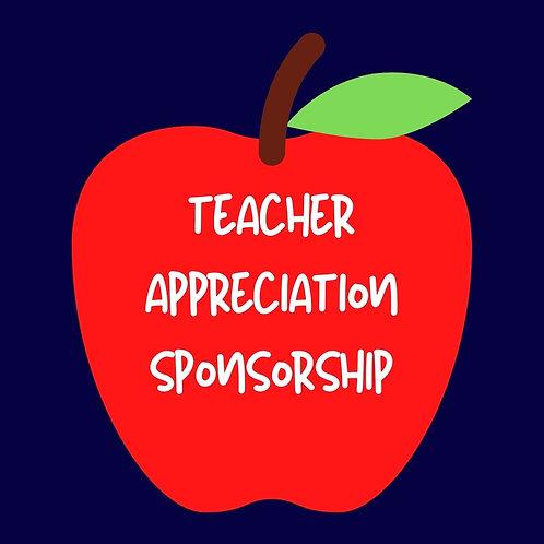 Teacher Appreciation Week Sponsorship