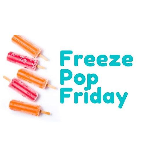 Freeze Pop Friday