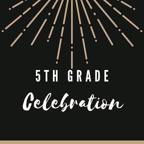 5th Grade Celebration Sponsorship