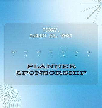 Planner Sponsorship