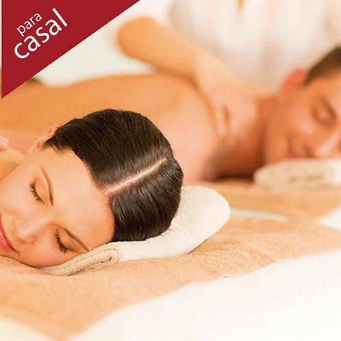 Massagem 2h (a escolher) para casal