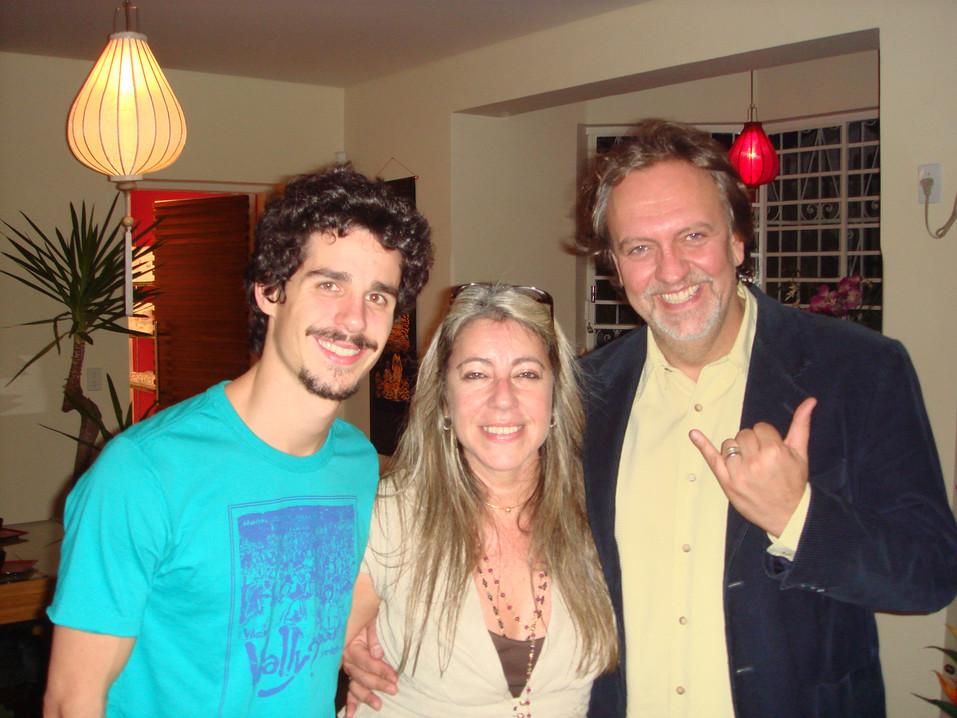 Pedro Nechling e Luciano Chirolli