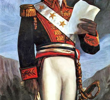 Meet Toussaint Louverture, the main character of #AGenerationalCry