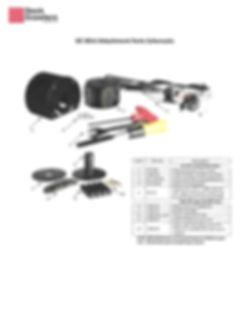 DDM DC-Mini Attachment Parts Schematic