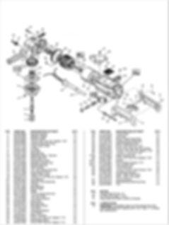 DDM DC-5000M Parts Schematic