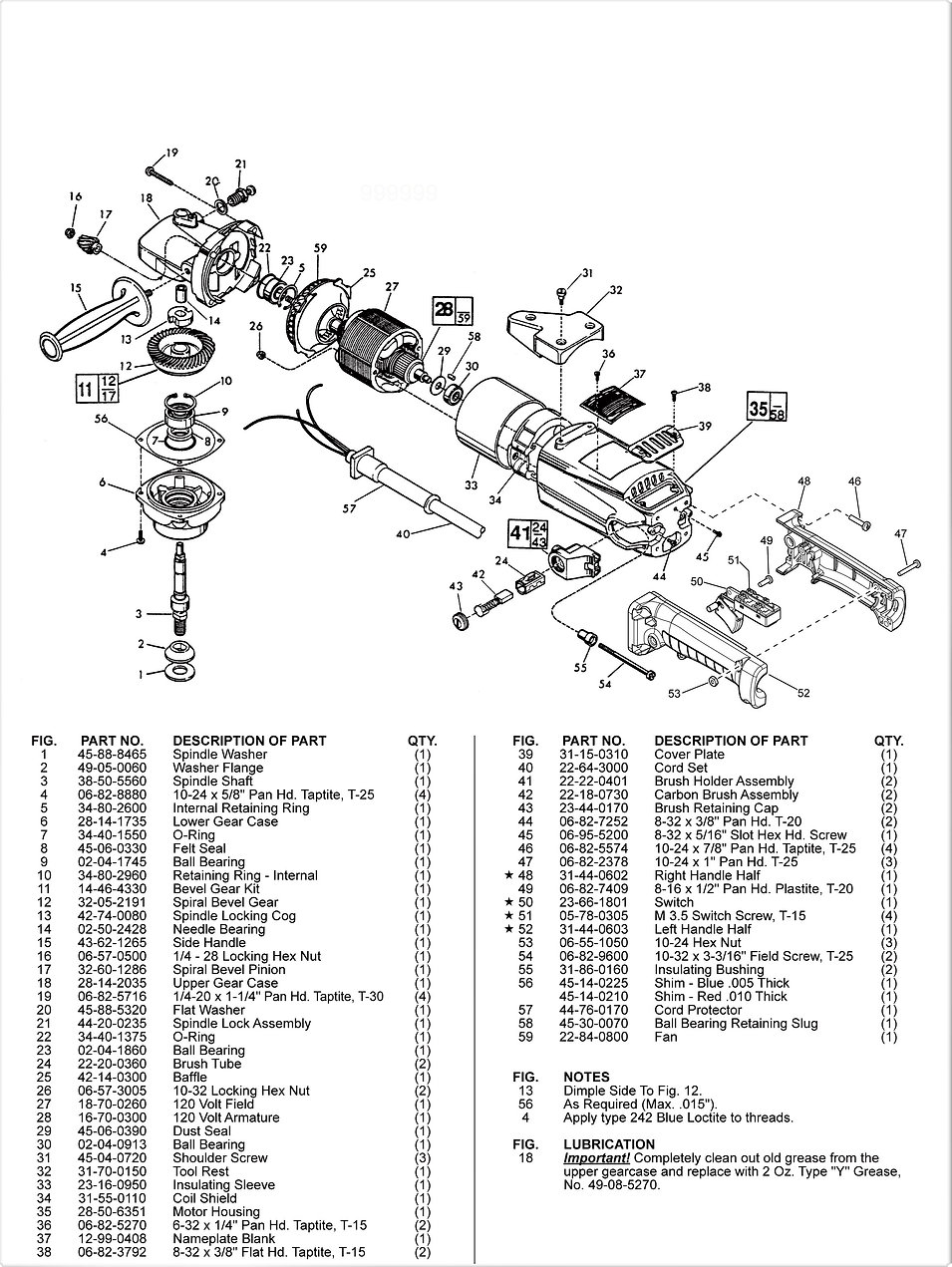 DDM DC-5000M Parts Schematic