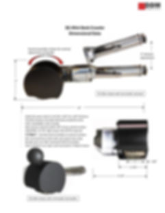 Sales information and dimensions for DDM Power Tools DC-Mini