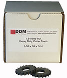 DDM Deck Crawler Cutter Teeth and spacers