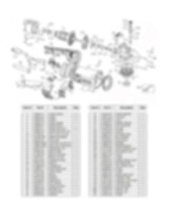 DDM DC-6000D Parts Schematic