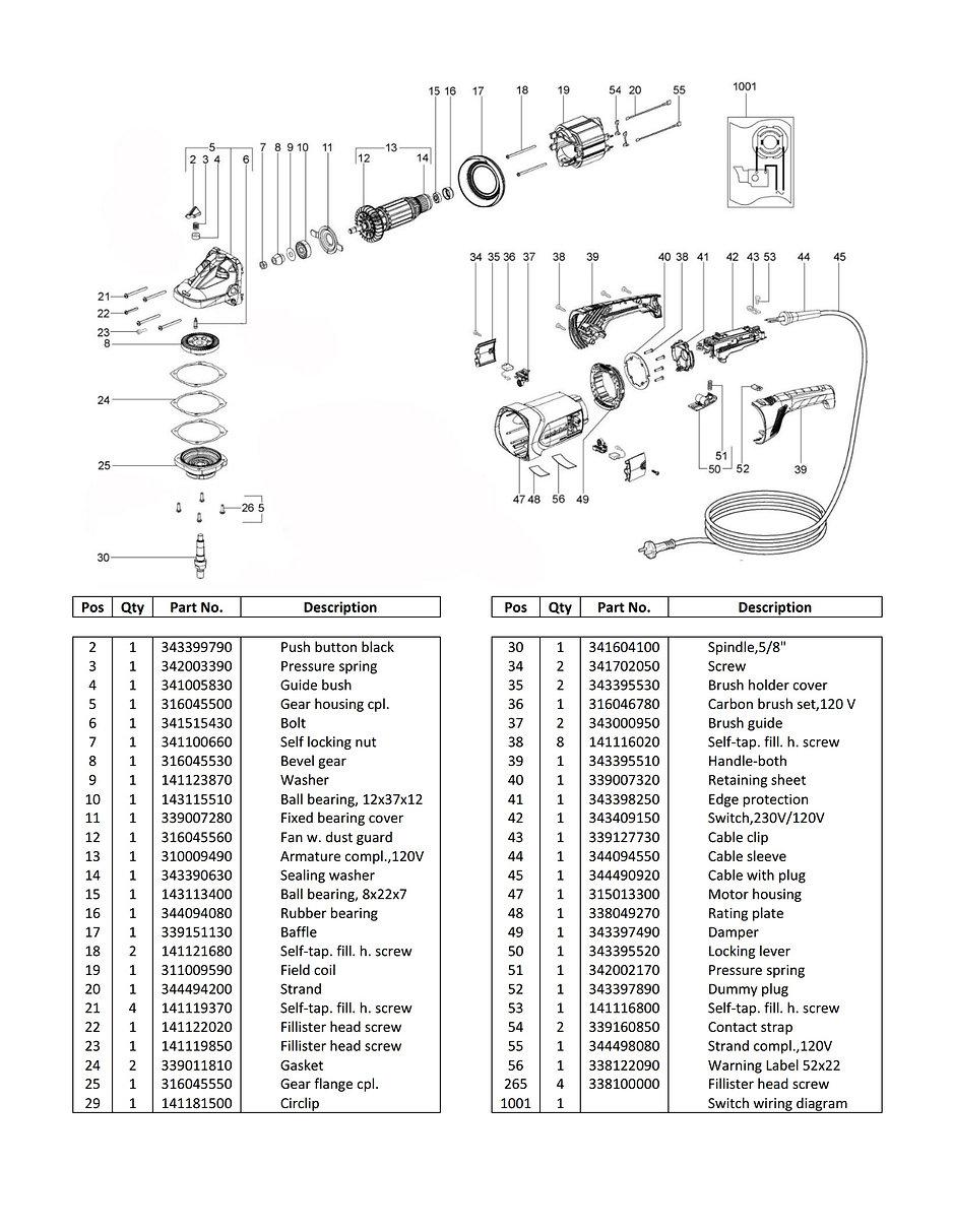 DDM DC-6600Met Parts Schematic