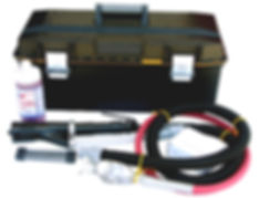 NS-2500V Vacuum Needle Scaler Kit for lead abatement