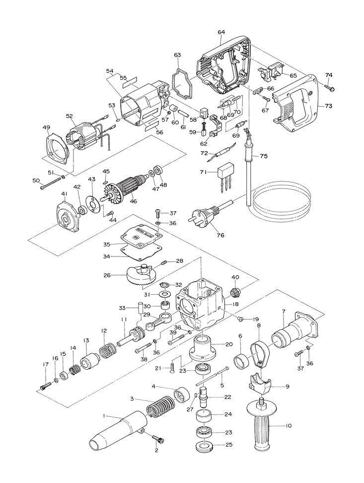 NS-4500 Parts schematic