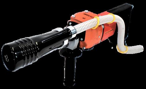 Vacuum electric needle scalers