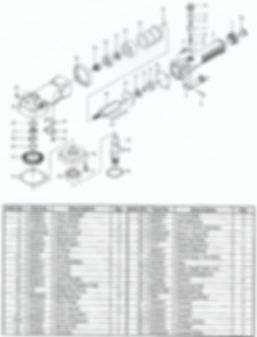 DDM DC-4500GP drive motor parts schematic