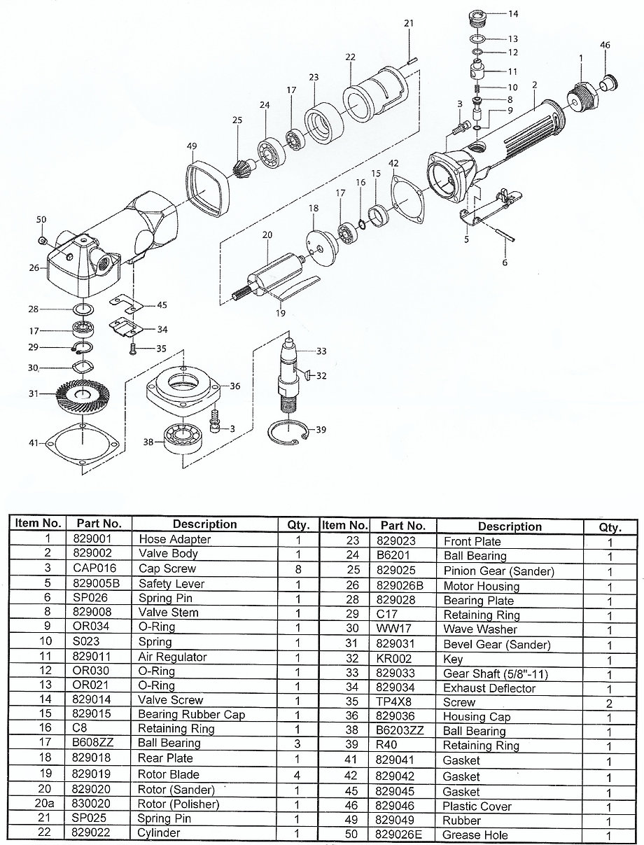 DC-Mini Parts Schematic