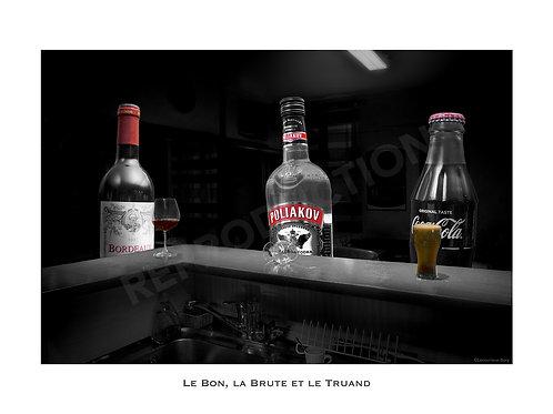 Le Bon, la Brute et le Truand (Pt Format) 30x40 cm