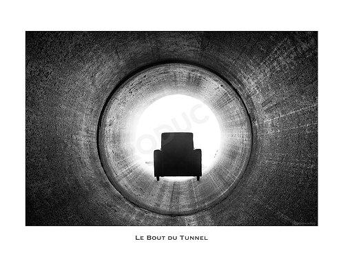 Le Bout du Tunnel (Gd Format) 40x55 cm