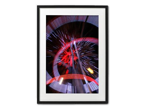 """Luminescence"" n°2 (Pt format 30x40 cm)"