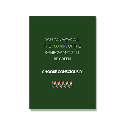 Choose Consciously poster A4