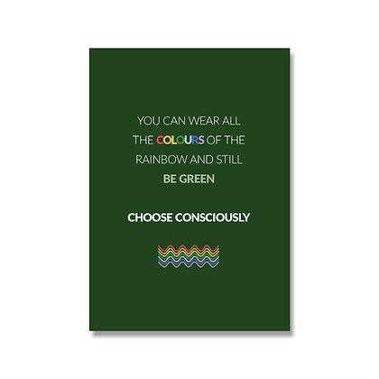 Choose Consciously kaart A6