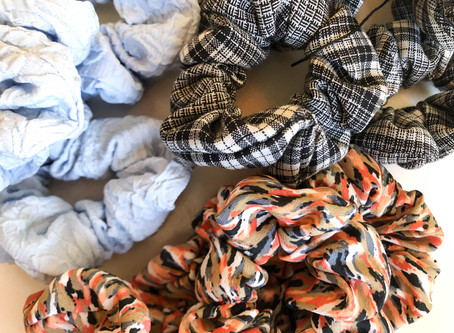 Scrunchies are reducing waste